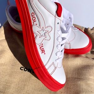 Converse One Star Ox Golf Le Fleur Color Red
